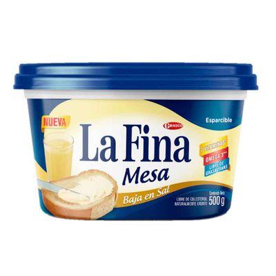 Margarina-LA-FINA-mesa-sin-sal-caja-x500-g.