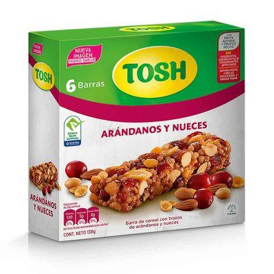 Cereal-TOSH-barras-con-trozos-de-arandanos-y-nueces-6-unds-x138-g.