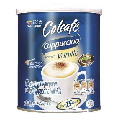 Cafe-COLCAFE-cappuchino-vainilla-lata-x270-g.