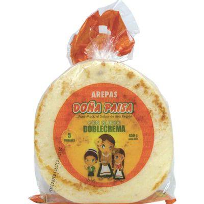 Arepa-queso-doble-crema-DOÑA-PAISA-x-5unds.