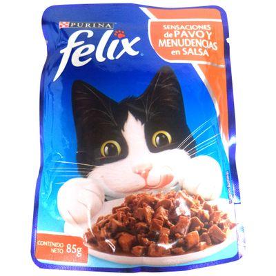 Alimento-gato-purina-FELIX-sensaciones-de-pavo-y-menudencias-en-salsa-x85-g.