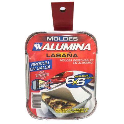 Molde--ALUMINA-para-lasagna-con-tapa-x6-unds.