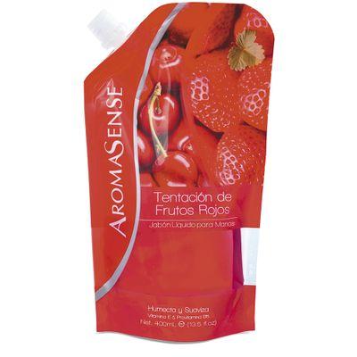 Jabon-liquido-frutos-rojos-AROMASENSE-x400-ml.