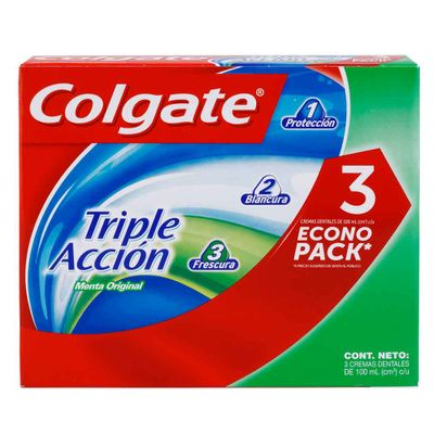 Crema-dental-COLGATE-triple-accion-precio-especial-3unds.-X100-ml.
