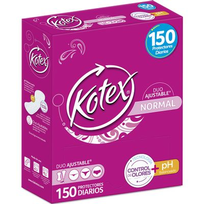 Protectores-KOTEX-days-duo-x150unds.