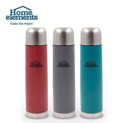 Termo-HOME-ELEMENTS-acero-0.32lt-colores-surtidos