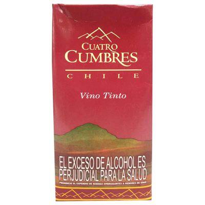 Vino-CUATRO-CUMBRES-chile-tinto-caja-x1-lt.