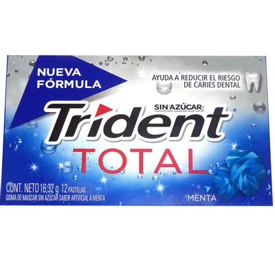Chicle-TRIDENT-total-menta-x16.32-g.
