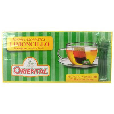 Aromatica-ORIENTAL-de-limoncillo-caja-x20-sobres.