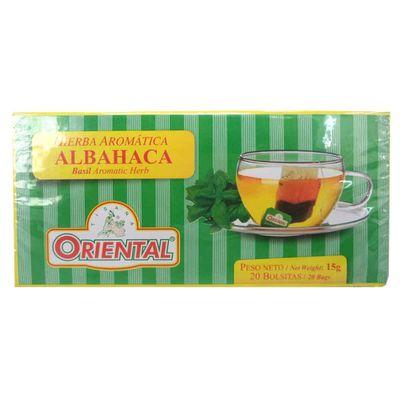 Aromatica-ORIENTAL-de-albahaca-caja-x20-sobres.