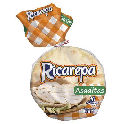 Arepa-NORMANDY-ricarepa-asadita-sin-sal-x10un