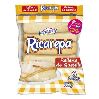 Arepa-NORMANDY-ricarepa-quesillo-x6un