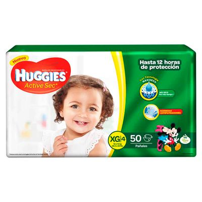 Pañal-HUGGIES-Activesec-Xl-X50Unds