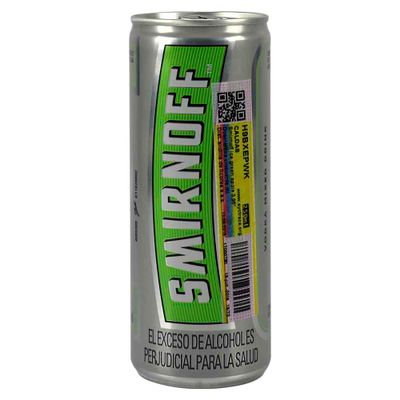 Mezcla-vodka-SMIRNOFF-ice-green-apple-x250-ml