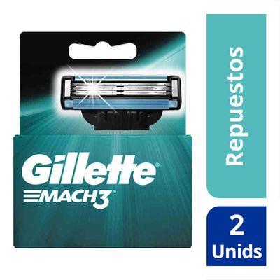 Repuesto-GILLETTE-Mach3-X2Unds