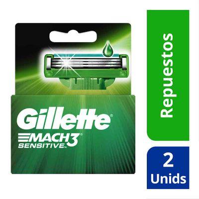 Repuesto-para-maquina-de-afeitar-GILLETTE-mach3-sensitive-x2-unds