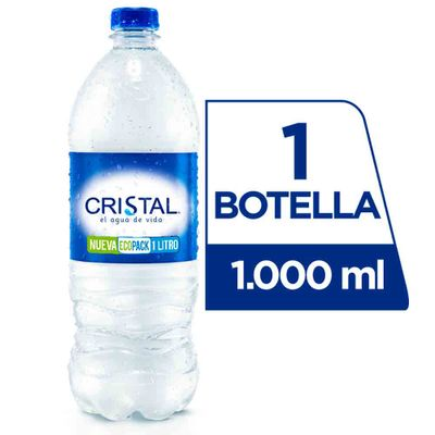 Agua-CRISTAL-X1000Ml