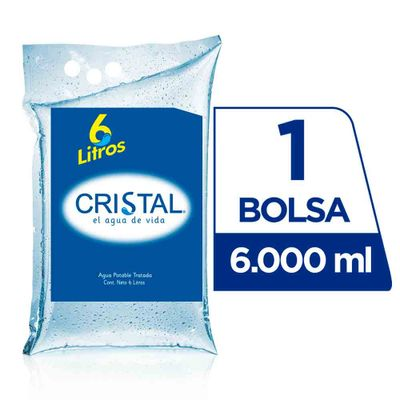 Agua-CRISTAL-x6-Lts