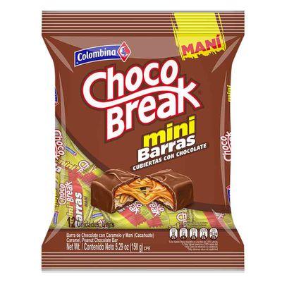 Chocolatina-Chocobreak-160-Mini-Barra-18Bs