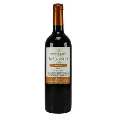 Vino-SANTA-CAROLINA-750Ml-Reservado-Carmenere