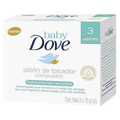 Jabon-DOVE-baby-hidratacion-sensible-3-unds-barra-x75-g-cu
