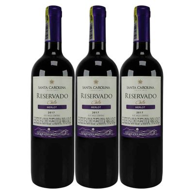Vino-SANTA-CAROLINA-750-Reser-Merlot-2X3-Botella
