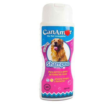 Shampoo-CANAMOR-Para-Perros-Y-Gatos-De-Todas-Las-Razas-X230Ml