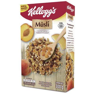 Cereal-MUSLI-Kelloggs-300-Melocoton-Caja
