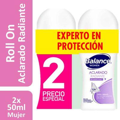 Desodorante-BALANCE-2Un-50-Rol-Aclarado-Radiante-Prec-Esp-6Fr