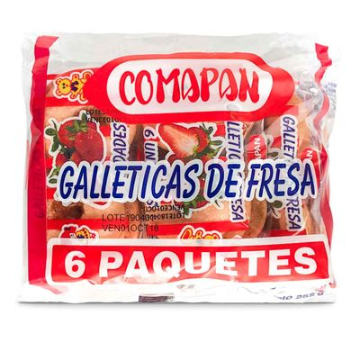 Galleta-COMAPAN-252-Fresa-6-Unidades-Paquete