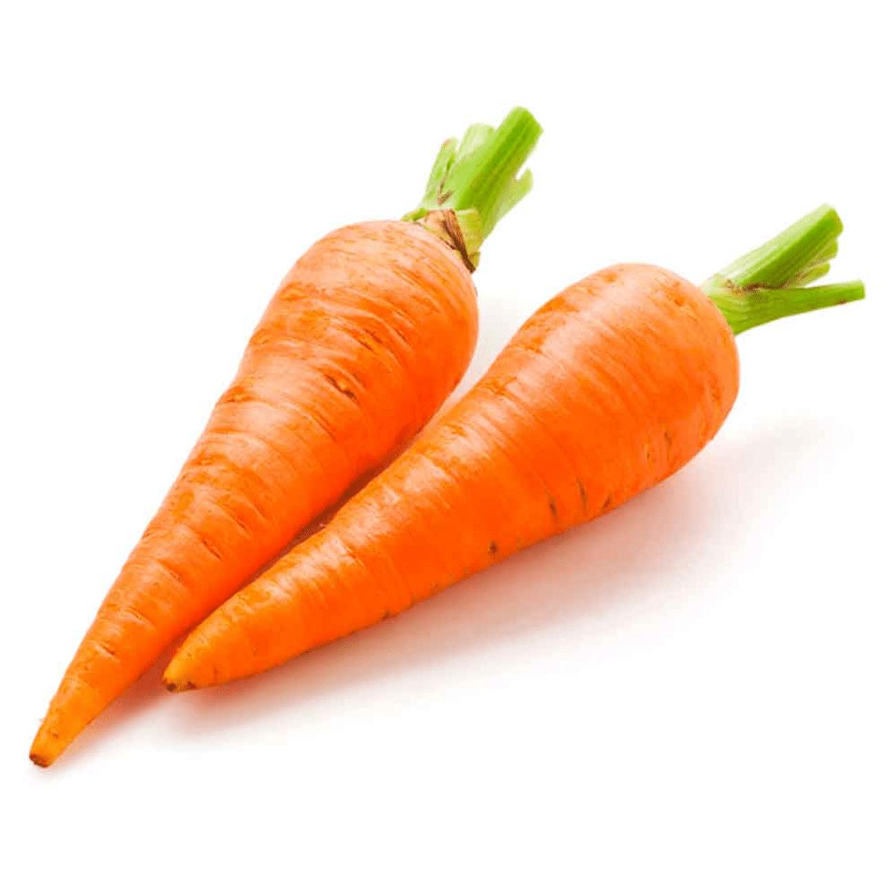 Zanahoria Mercaldas También se pueden obtener en los cultivos de las aldeas. zanahoria mercaldas