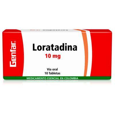 LORATADINA-10MG-10TB-GF