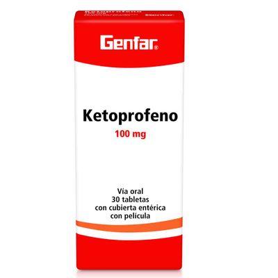 KETOPROFENO-100MG-30TB-GF