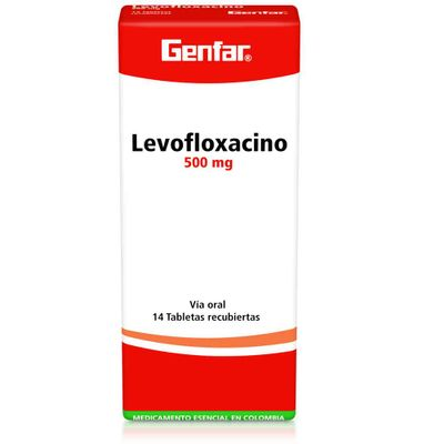 LEVOFLOXACINO-500MG-14TB-GF