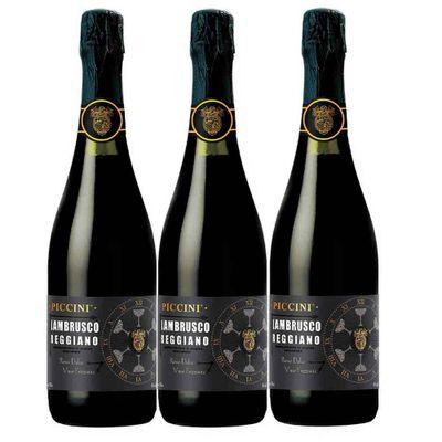 Vino-PICCINI-lambrusco-tinto-regno-Doc-x750-ml-8-Vo-Paque-2-lleve-3-botellas