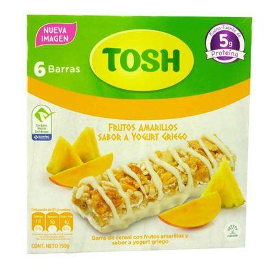 Cereal-TOSH-6Bar-25Gr-FrutAmarYogurt-Caj
