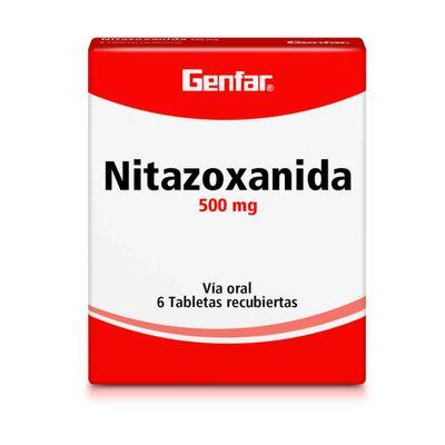 NITAZOXANIDA-500MG-6TB-GF