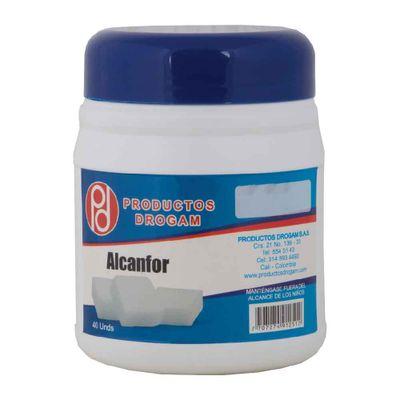 ALCANFOR-40UN-DROGAM