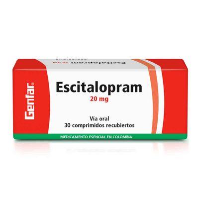 ESCITALOPRAM-20MG-30TAB-GF