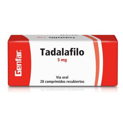 TADALAFILO-5MG-28CAP-GENFAR