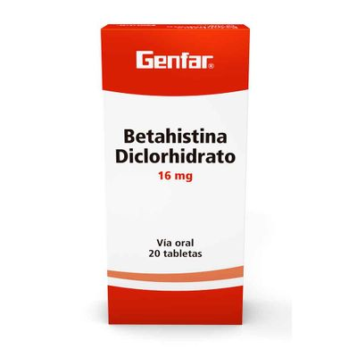 BETAHISTINA-DICLORHIDRATO-16MG-20TAB-GEN