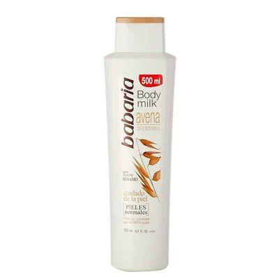 Crema-BABARIA-500-Body-Milk-Avena-Sesam_109596
