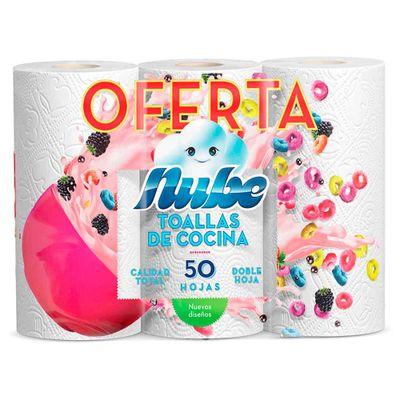 Toalla-Cocina-NUBE-D-H-3Rollos-Prec-Esp-50_77519