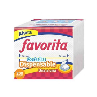 Servilleta-FAVORITA-1A1-200-Paquete_43913