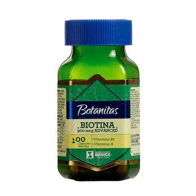 BIOTINA-900MCG-100-CAP-MEDICK_71820