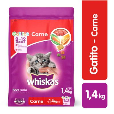Alimento-para-gato-WHISKAS-gatitos-sabor-a-carne-x1-4-kg_114415