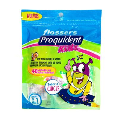 Flossers-PROQUIDENT-kids-sabor-a-chicle-x40-unds_74289