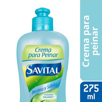 Crema-Para-Peinar-SAVITAL-Con-Biotina-Y-Sabila-X275Ml_27420
