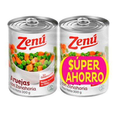 Arveja-ZENU-Con-Zanahoria-2-Unds-x300-g-Precio-Especial_112469