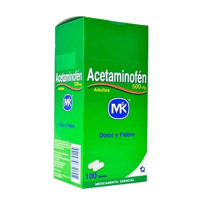 ACETAMINOFEN-500MG-100TB-MK_13915
